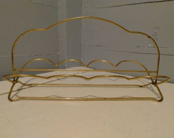 Vintage Metal Rack Stand Collapsable MidCentury Photo Prop RhymeswithDaughter