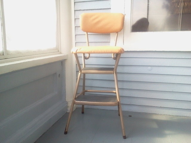 Phenomenal Vintage 60S Cosco Step Stool Ladder Kitchen Stool Step Lamtechconsult Wood Chair Design Ideas Lamtechconsultcom