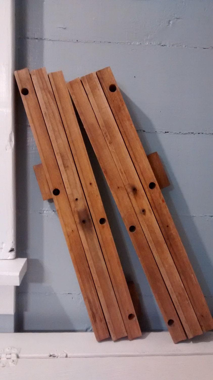 Antique Table Extension Slides Wood Furniture Hardware