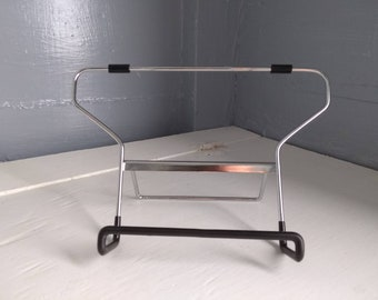 Vintage Folding Easel Book Stand Recipe Book Stand Metal Mid Century Modern Minimalist Photo Prop RhymeswithDaughter