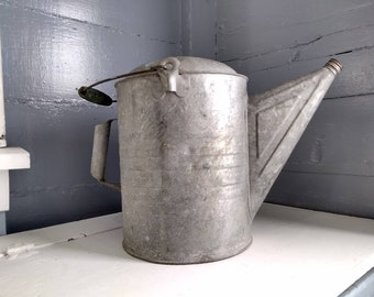 Vintage, Large, Metal, Watering, Can, Decorative, Rustic, Farm House, Decor, Cottage Chic, Photo Prop, RhymeswithDaughter