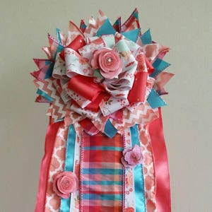 Custom Baby Shower Corsage Large Door Hanger Hospital Nursery Decor Its A Boy Woods Hunting Deer Theme Ribbons Mom To Be
