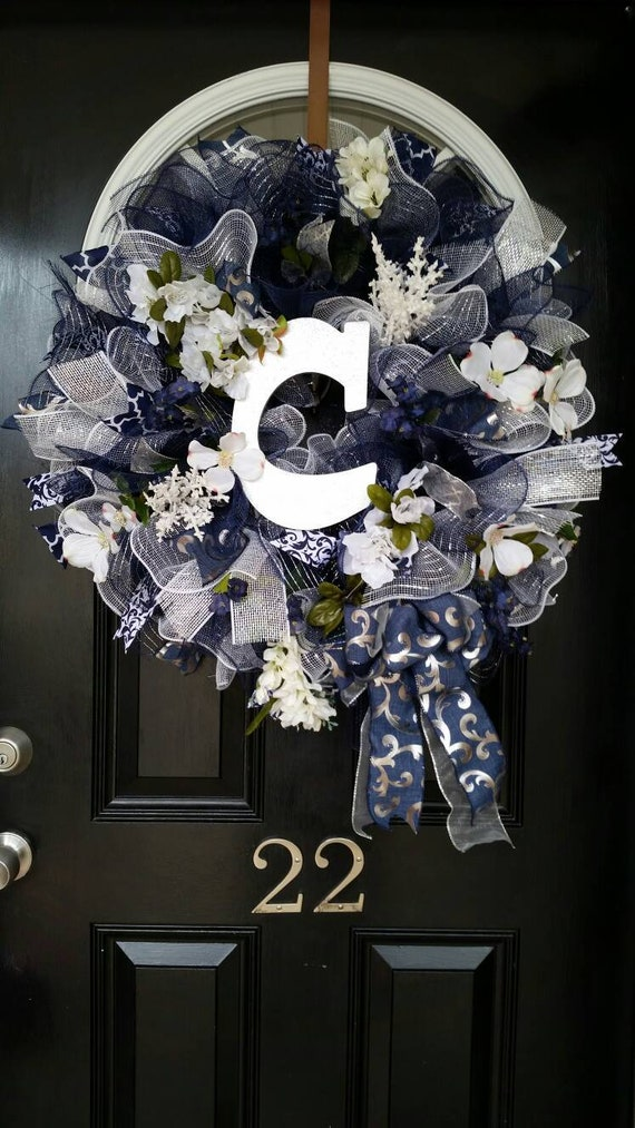Large Door Wreath Year Round Spring Summer Wreath Mothers Day   Etsy