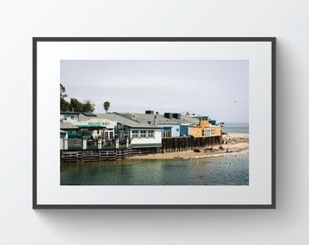 Paradise Beach in Capitola, California | Photo Print, Metal, Canvas, Framed.