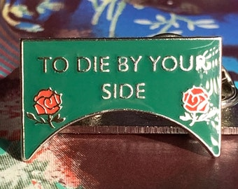 To Die By Your Side Pin Badge The Smiths Morrissey Salford Lads Club The Queen is dead England is Mine