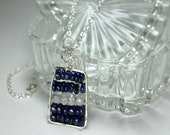 Dark Blue Lapis Necklace ...