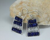 Lapis Lazuli Earrings, Da...