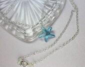 Blue Starfish Swarovski C...
