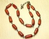 Southwestern Beaded Necklace, Tribal Necklace, Indonesian Seed Bead Necklace, Southwestern, Ethnic Jewelry, Unisex