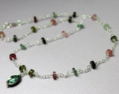Tourmaline Necklace in St...