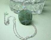 Green Jade Gemstone Penda...