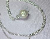 Baroque Pearl Necklace, L...