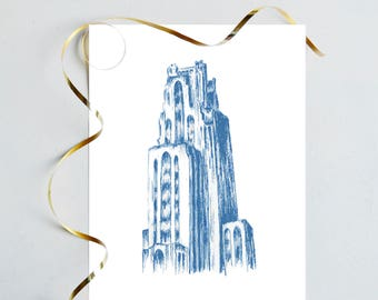 Cathedral of Learning Print - Pitt Print - University of Pittsburgh Print