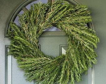 "Rosemary Wreath- 20"""