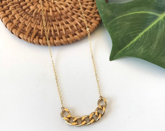 New! // Chain Link Necklace