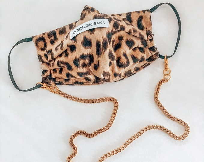 New! // Detachable Mask Chain