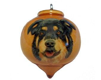 Custom Portrait Dog, Christmas Ornament