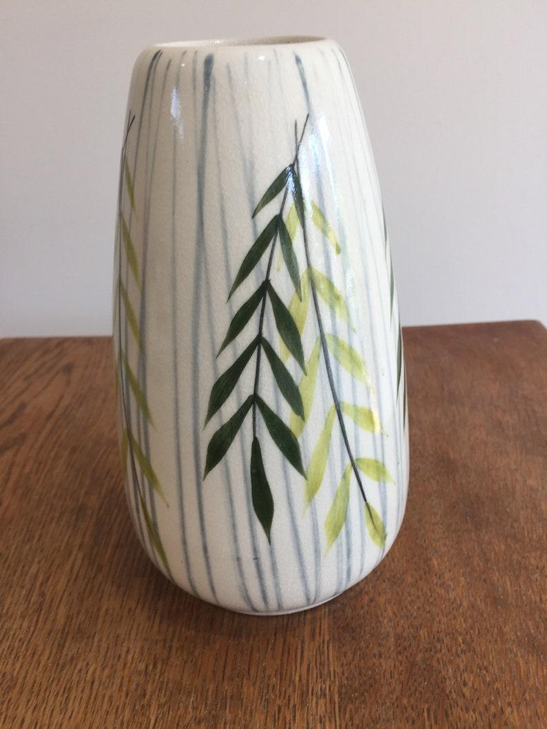 1950s/60s Maund Pottery Ceramic Vase image 0