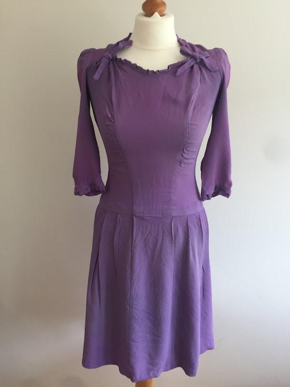 Original 1940s Dress  - XS