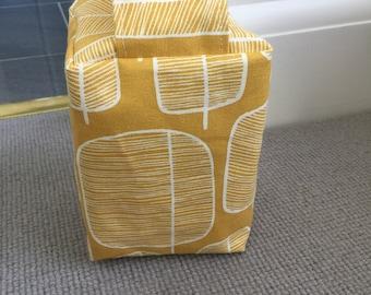 Fabric Doorstop - Retro - Mid Century - Miss Print