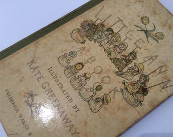 Little Ann A Book - Frederick Warne & Co - Kate Greenaway