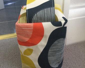 Fabric Doorstop - Mid Century - Retro