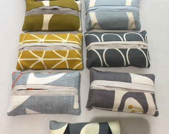 Handbag sized tissues cover/holder Stocking Filler