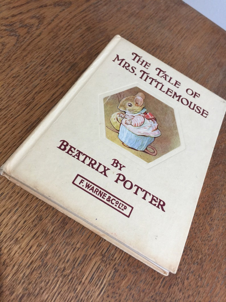 Vintage Edition of Beatrix Potter's The Tale of Mrs image 0