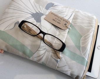 ipad Air 2 scratch cover - Laura Ashley Molito Smoke colour fabric