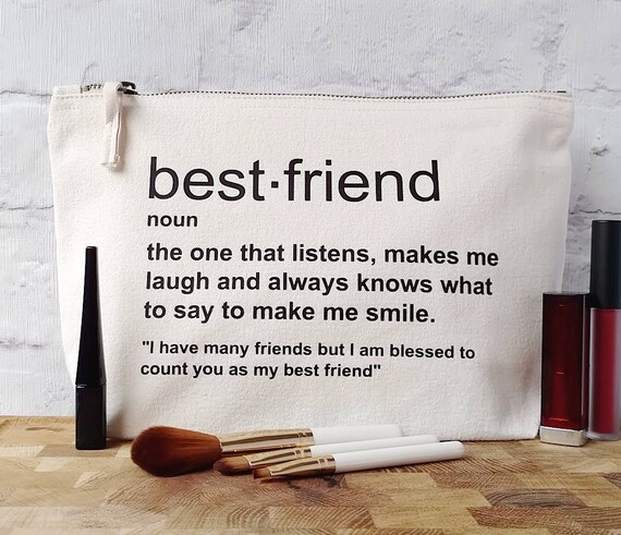 Best Friend Birthday Gift Best Friend Toiletry Bag Best