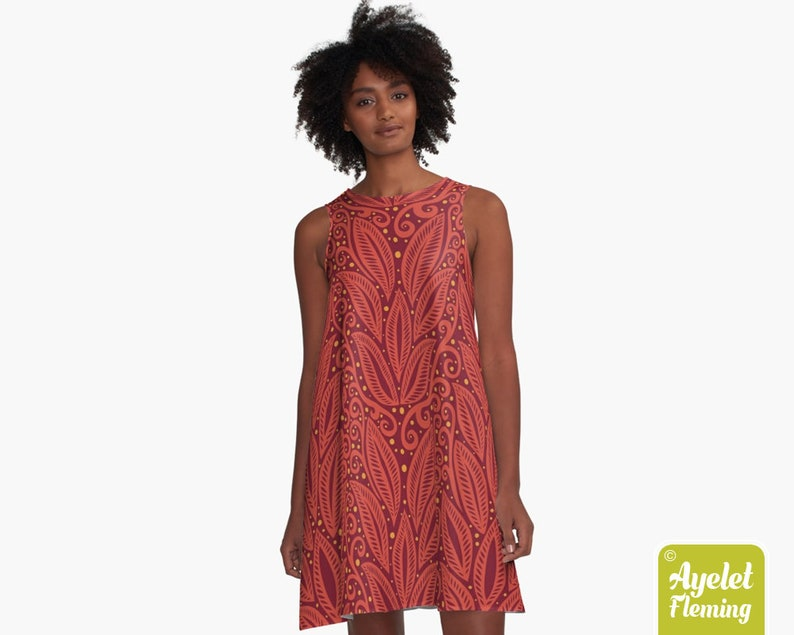 Red tiki dress Size XXS-4XL Hawaiian dress women Polynesian dress