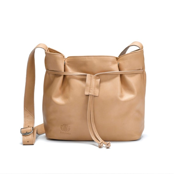 a7bf4b3bde Mother s Day Sale Soft leather purse Nude women bag
