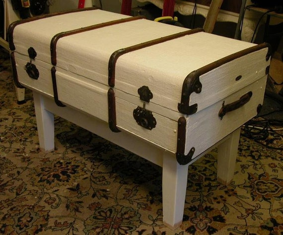 Suitcase Suitcase Ship Furniture Coffee Table Etsy