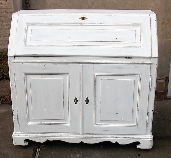 original sekret r im shabby chic um 1840 etsy. Black Bedroom Furniture Sets. Home Design Ideas
