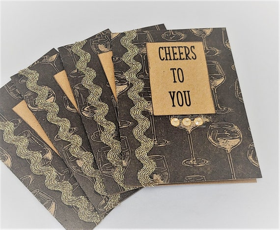 Cheers note cards