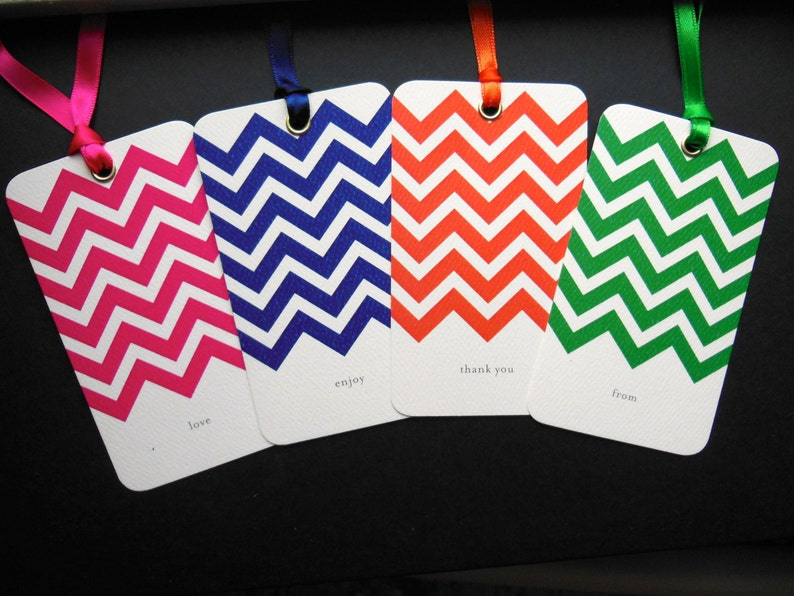 Say Anything GiftWine Solid Chevron