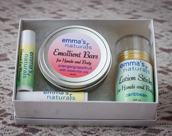 Lotion and Lip Moisture Gift Box