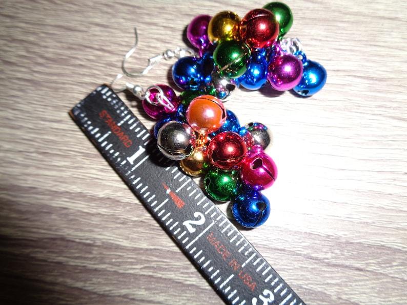 Holiday Bells Earring Winter Earrings Fun Many bells Holiday Earrings Christmas Earrings Jingle Bells Earrings Christmas Party