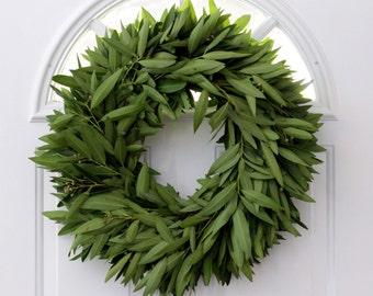 """Bay Leaf Wreath - 20"""""""