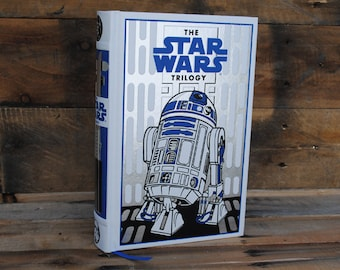 Book Safe - The Star Wars Trilogy - R2D2 Leather Bound Hollow Book Safe