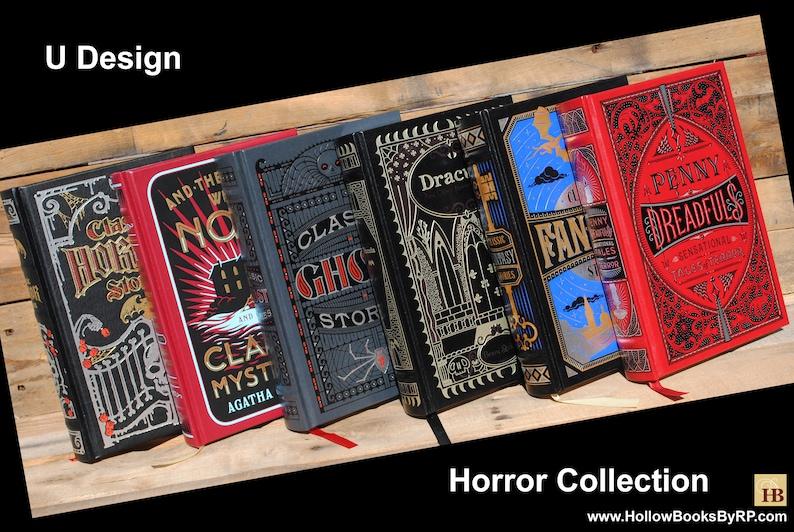 Custom Hollow Book Safe U-Design Horror Collection