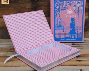 Hollow Book Safe - A Little Princess - Leather Bound