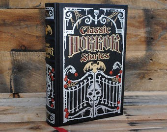Hollow Book Safe - Classic Horror Stories - Leather Bound