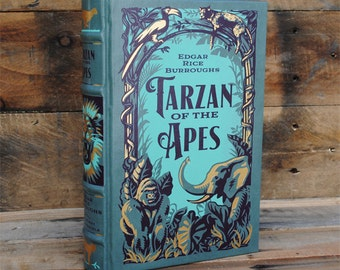 Hollow Book Safe - Tarzan of the Apes - Leather Bound