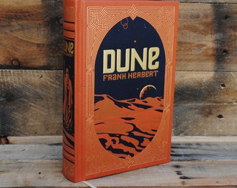 Hollow Book Safe - Dune - Leather Bound