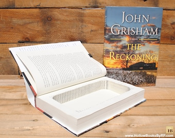 Hollow Book Safe - John Grisham - The Reckoning - Hollow Secret Book