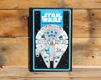 Book Safe - Legends Star Wars Han Solo Trilogy - Leather Bound Hollow Book Safe