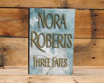 Hollow Book Safe - Nora Roberts - Three Fates - Hollow Secret Book