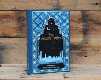 Hollow Book Safe - The Arabian Nights - Leather Bound
