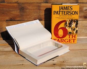 Hollow Book Safe - James Patterson - The 6th Target - Hollow Secret Book
